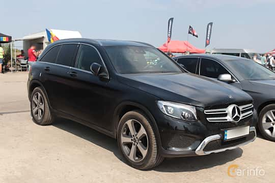 Front/Side  of Mercedes-Benz GLC 250 d 4MATIC  9G-Tronic, 204ps, 2018 at Proudrs Drag racing Poltava 2019