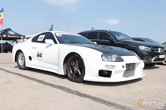 Front/Side  of Toyota Supra 1993 at Proudrs Drag racing Poltava 2019