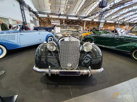 Front  of Mercedes-Benz 170 S Cabriolet A  Manual, 52ps, 1950 at Techno Classica Essen 2019