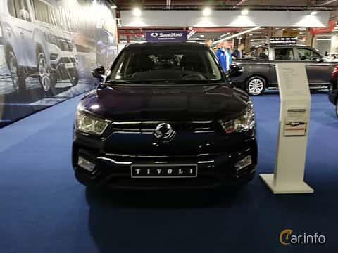 Front of SsangYong Tivoli 1.6 e-GXI Manual, 128ps, 2018 at Warsawa Motorshow 2018