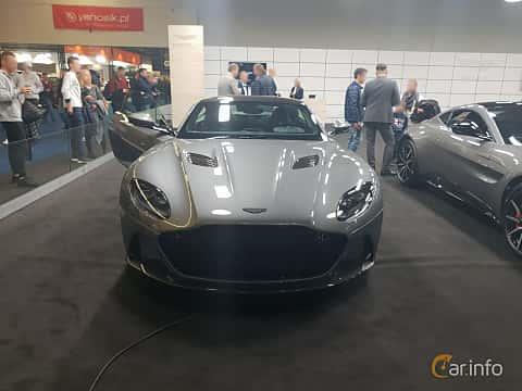 Front  of Aston Martin DBS Superleggera 5.2 V12 Automatic, 725ps, 2018 at Warsawa Motorshow 2018