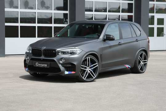 Front/Side  of G-Power X5 M 4.4 V8 Steptronic, 710hp, 2015
