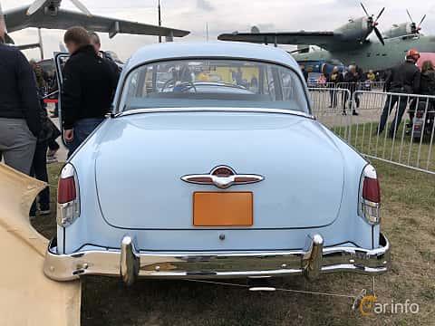 Back of GAZ M-21 Volga 2.4 Manual, 65ps, 1957 at Old Car Land no.2 2019