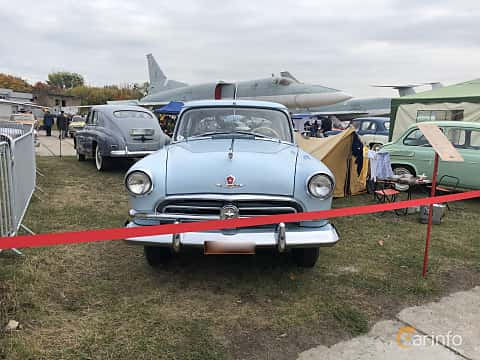 Front  of GAZ M-21 Volga 2.4 Manual, 65ps, 1957 at Old Car Land no.2 2019