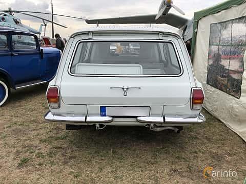 Back of GAZ 24-13 Volga 2.4 Manual, 100ps, 1989 at Old Car Land no.2 2019