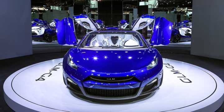 Front  of GLM GLM-G4 Electric Concept, 539hp, 2016