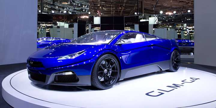 Front/Side  of GLM GLM-G4 Electric Concept, 539hp, 2016
