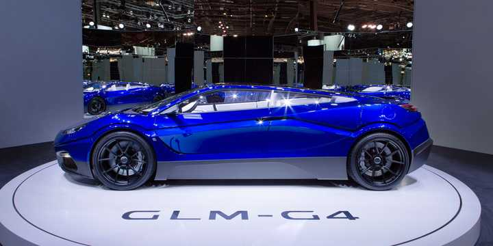 Side  of GLM GLM-G4 Electric Concept, 539hp, 2016