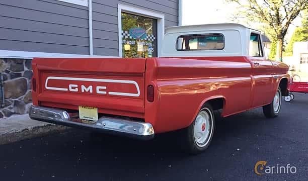 Back/Side of GMC 1000 Pickup 3.8 141ps, 1964