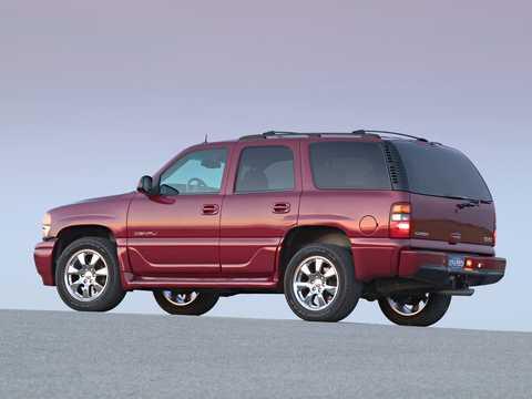 Back/Side of GMC Yukon 6.0 V8  Automatic, 329hp, 2001