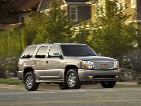 Front/Side  of GMC Yukon 6.0 V8  Automatic, 329hp, 2001