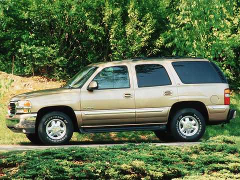 Side  of GMC Yukon 2000