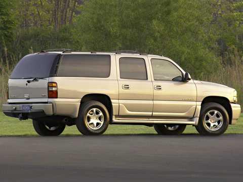 Back/Side of GMC Yukon XL 6.0 V8  Automatic, 329hp, 2003