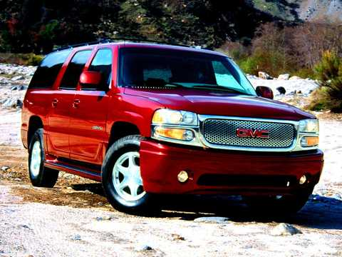 Front/Side  of GMC Yukon XL 6.0 V8 AWD Automatic, 329hp, 2003