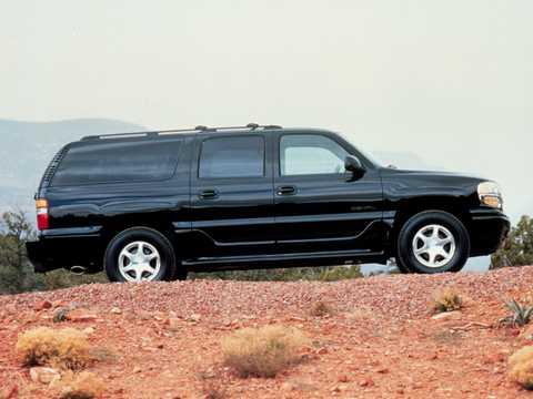 Side  of GMC Yukon XL 6.0 V8  Automatic, 329hp, 2003