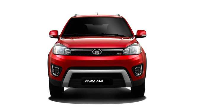 Front  of Great Wall M4 1st Generation