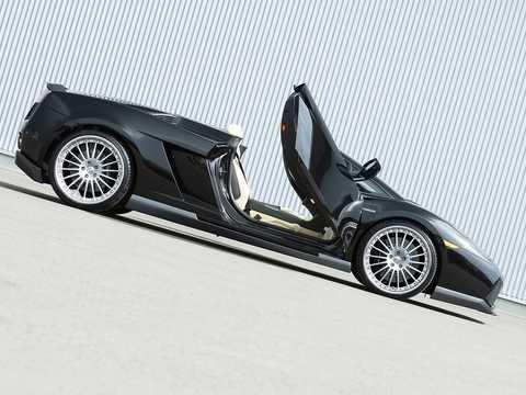 Side  of Hamann Gallardo Spyder 5.0 V10 AWD E-Gear, 558hp, 2006