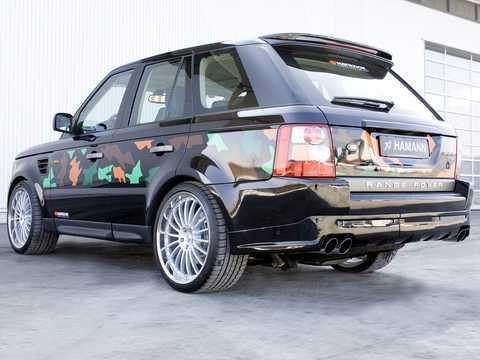 Back/Side of Hamann Range Rover Sport 2007