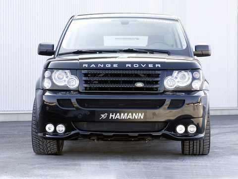 Front  of Hamann Range Rover Sport 2007