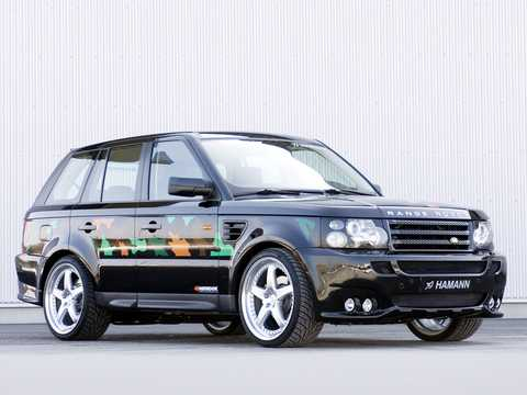 Front/Side  of Hamann Range Rover Sport 2007