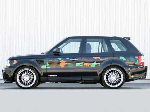 Side  of Hamann Range Rover Sport 2007