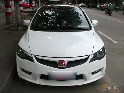 Front  of Honda Civic Type R Mugen Sedan 2.0 i-VTEC 243ps, 2009