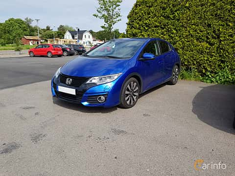 Front/Side  of Honda Civic 1.8 i-VTEC Automatic, 142ps, 2015