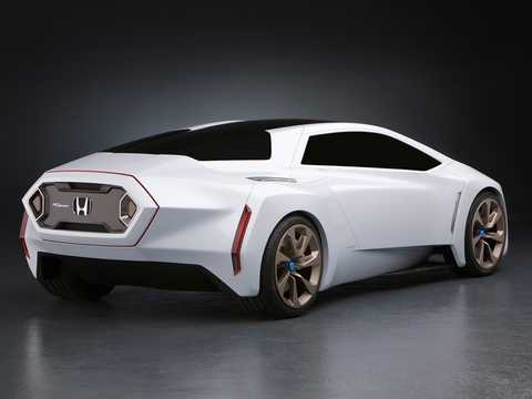 Back/Side of Honda FC Sport Concept Concept, 2008
