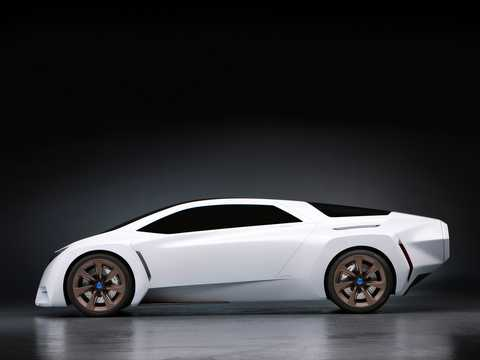 Side  of Honda FC Sport Concept Concept, 2008