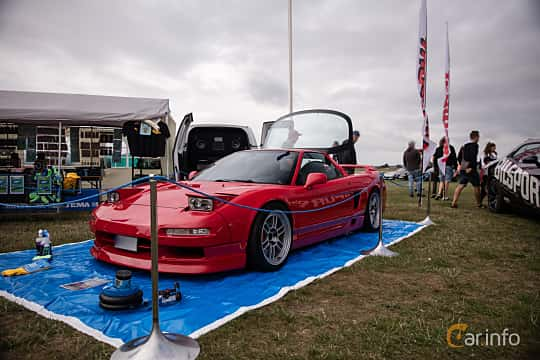 Front/Side of Honda NSX 3.0 V6 Manual, 274ps, 1991 at Vallåkraträffen 2018