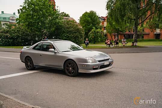 Front/Side  of Honda Prelude 2.2 Manual, 185ps, 1997 at Nässjö Cruising 2019