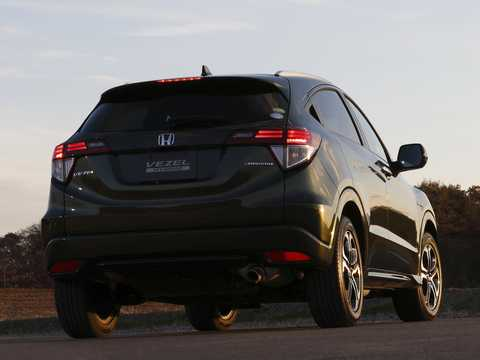 Back/Side of Honda Vezel 1.5 Automatic, 162hp, 2014