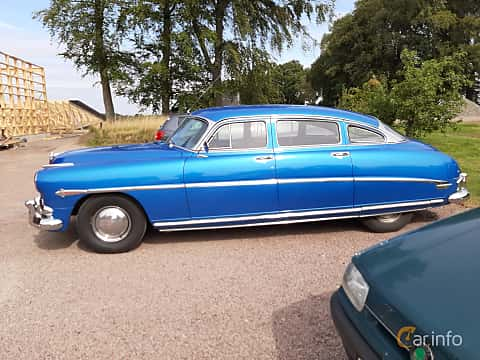 Sida av Hudson Commodore 4-door Sedan 4.2 Manual, 128ps, 1952