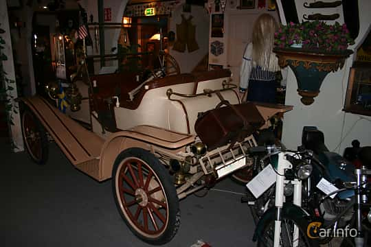 Back/Side of Hupmobile Model 20 1.8 Manual, 17ps, 1911