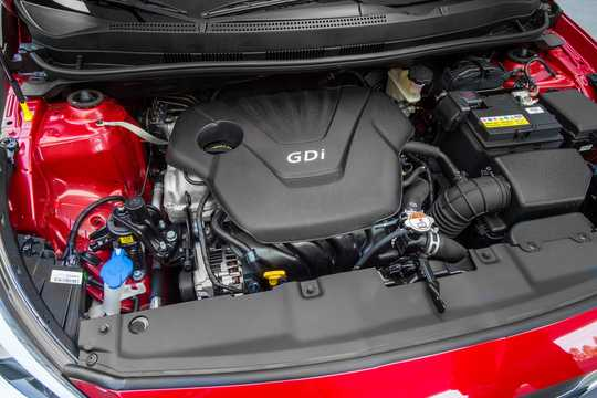 Engine compartment  of Hyundai Accent 1.6 GDI Automatic, 140hp, 2016