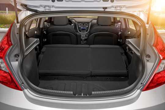 Interior of Hyundai Accent 1.6 GDI Automatic, 140hp, 2016
