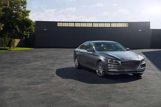 Front/Side  of Hyundai Genesis 2016