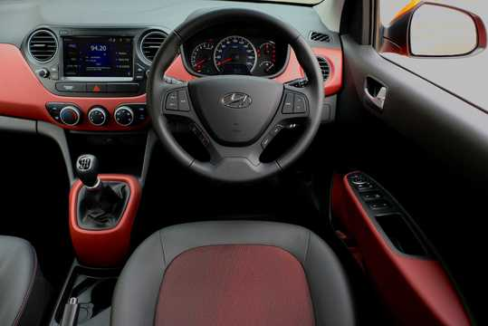 Interior of Hyundai Grand i10 2017