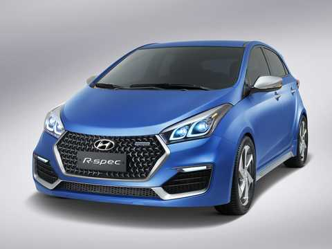 Front/Side  of Hyundai HB20 R-Spec Concept Concept, 2014
