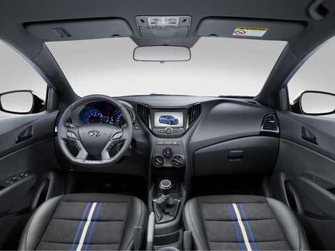Interior of Hyundai HB20 R-Spec Concept Concept, 2014
