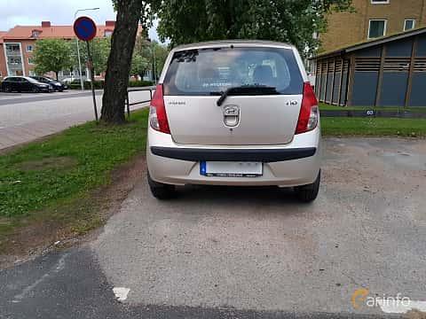 Back of Hyundai i10 1.1 iRDE Manual, 67ps, 2010