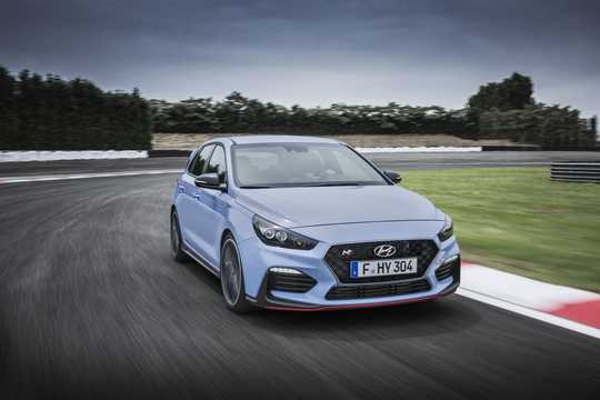Front/Side  of Hyundai i30 N 2.0 T-GDI Manual, 250hp, 2018