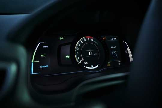 Interior of Hyundai Ioniq Hybrid 1.6 DCT, 141hp, 2017