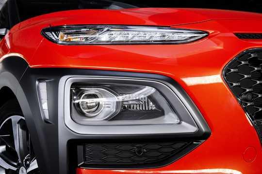 Close-up of Hyundai Kona 2018
