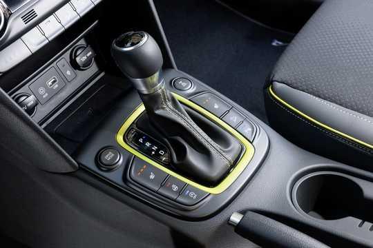 Interior of Hyundai Kona 2018