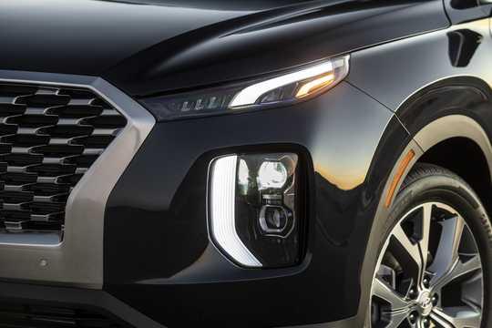 Close-up of Hyundai Palisade 2020