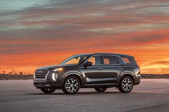 Front/Side  of Hyundai Palisade 2020