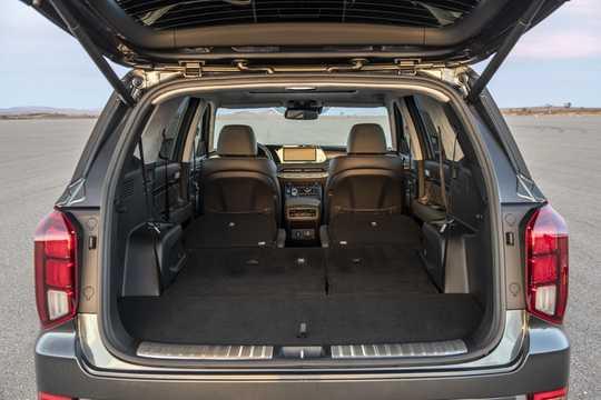 Interior of Hyundai Palisade 2020