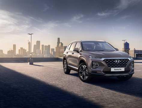 Front/Side  of Hyundai Santa Fe TM