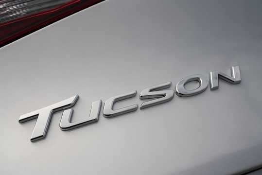 Close-up of Hyundai Tucson 2.4 GDI 4WD Automatic, 188hp, 2018